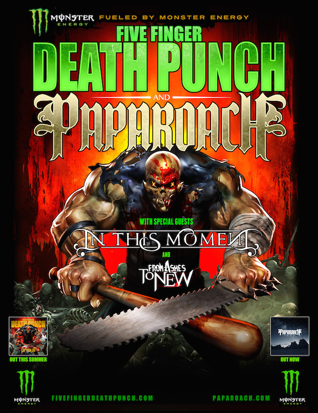 Five Finger Death Punch Canadian Tour 2016