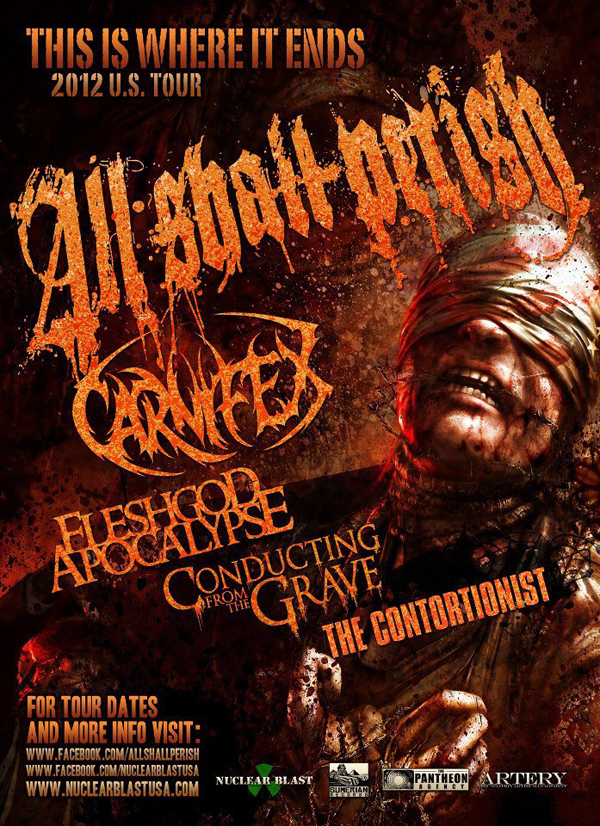 All Shall Perish, Carnifex, Fleshgod Apocalypse