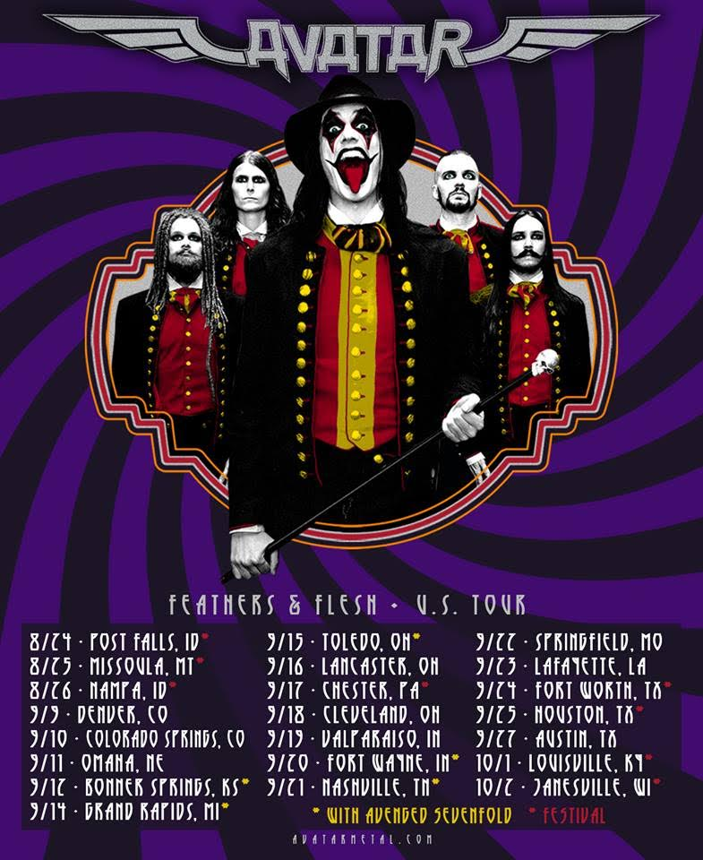 Feathers and Flesh US Tour
