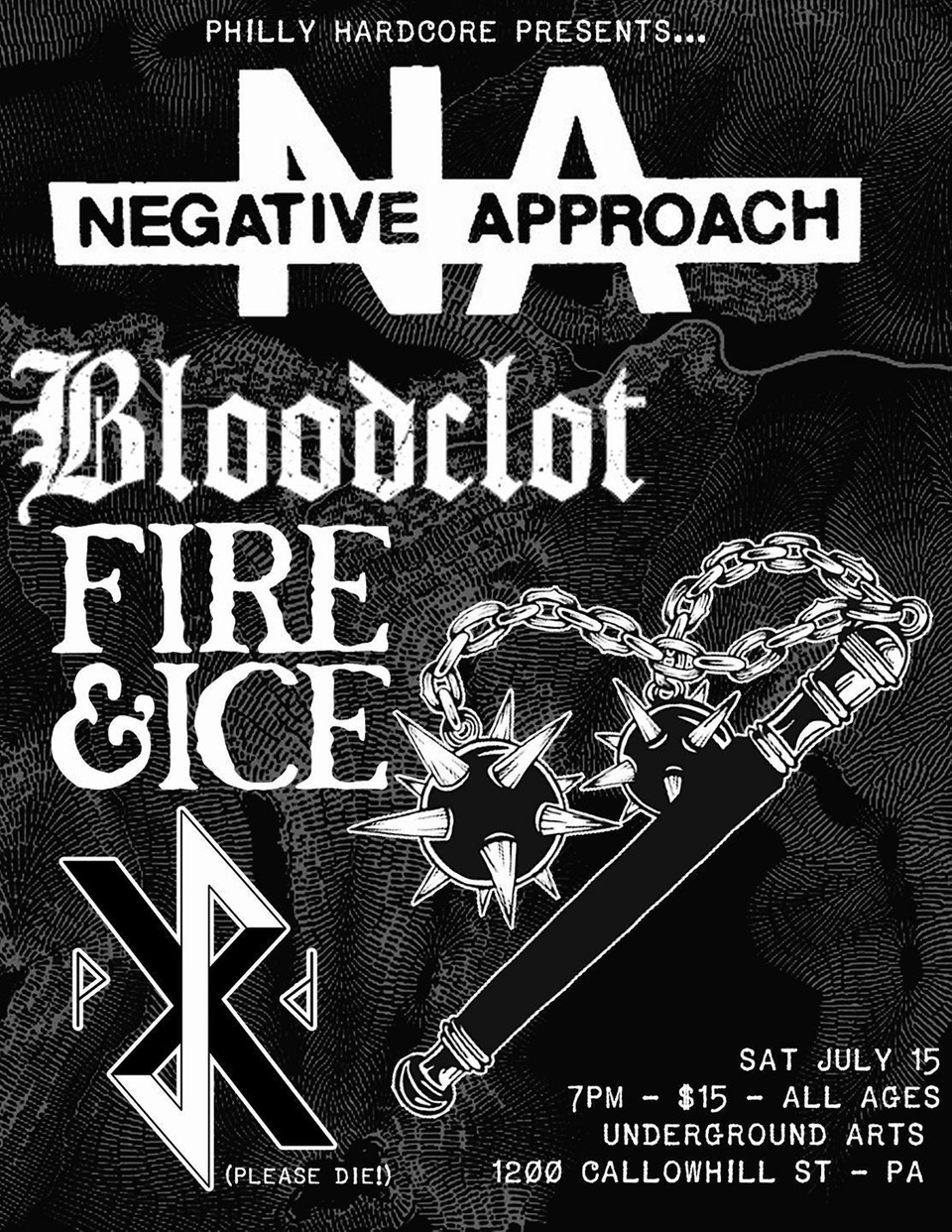 Negative Approach US tour