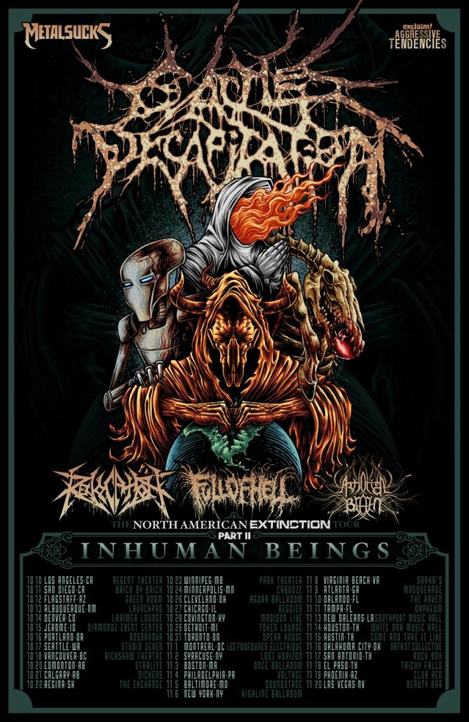 The North American Extinction Tour Part II: Inhuman beings