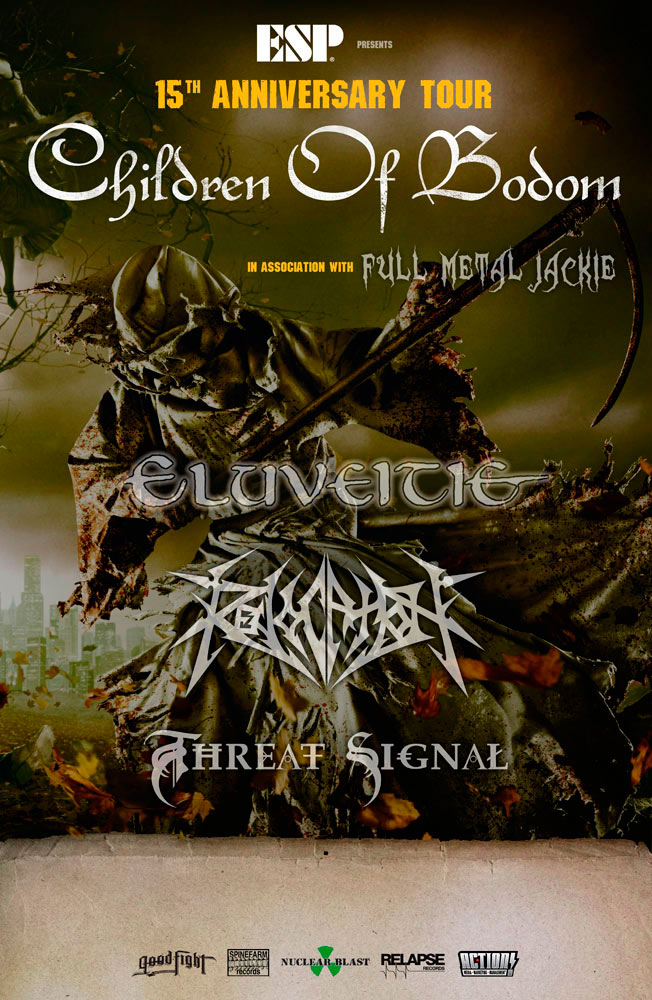 Children of Bodom, Eluveitie