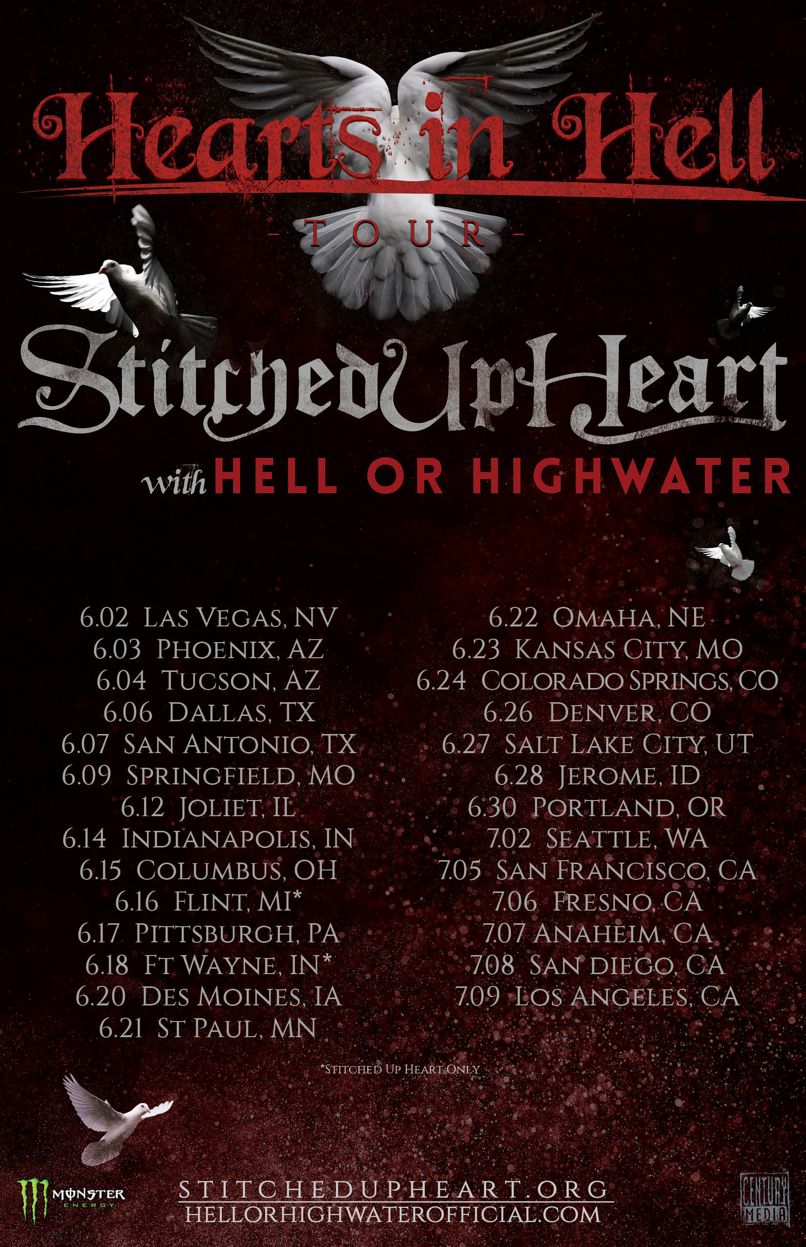 Hell or High Water US Tour