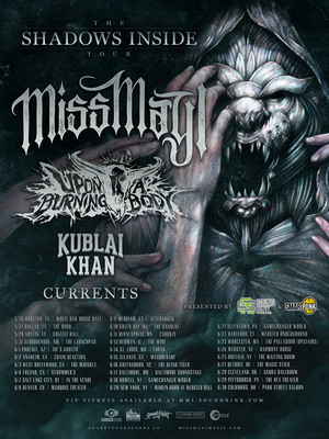 2017 Miss May I North American Tour