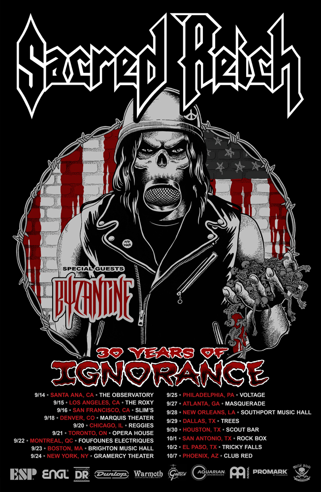 30 Years of Ignorance North American Tour
