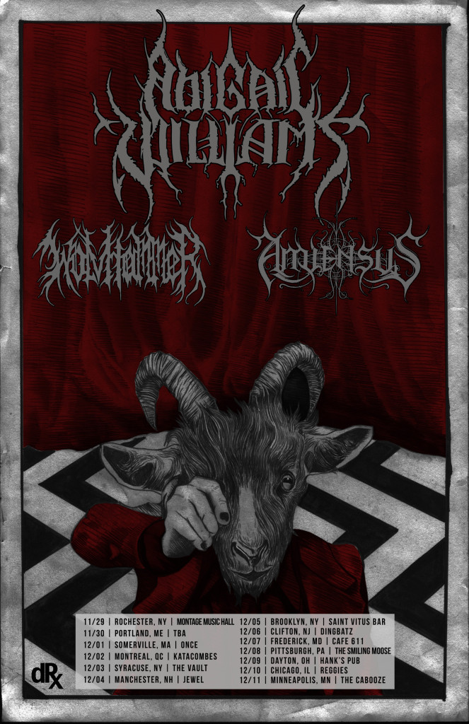 Abigail Williams 2016 East Coast Tour