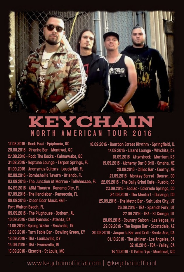 North American Tour 2016