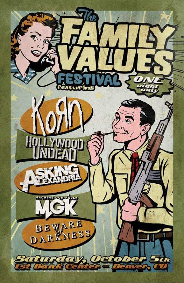 Korn Family Values Tour