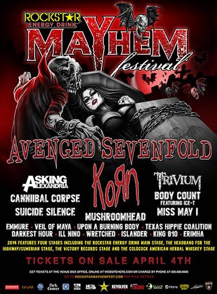 Mayhem Fest 2014