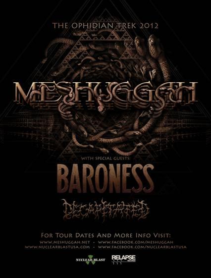 The Ophidian Trek - (Meshuggah)