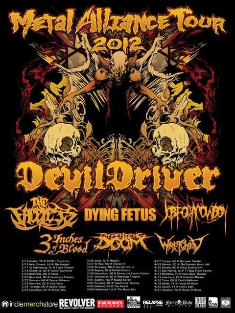 Metal Alliance Tour 2012