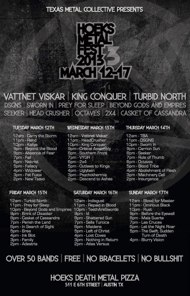 Hoeks Metal Fest 2013