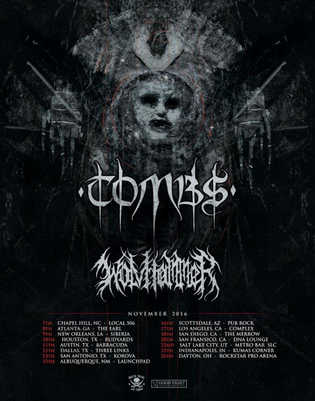 Tombs 2016 Fall US Tour