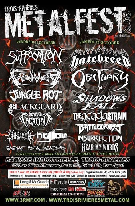 Tois-Rivieres Metalfest