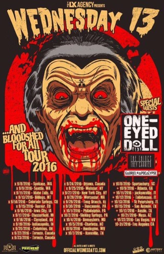 ...AND BLOODSHED FOR ALL TOUR