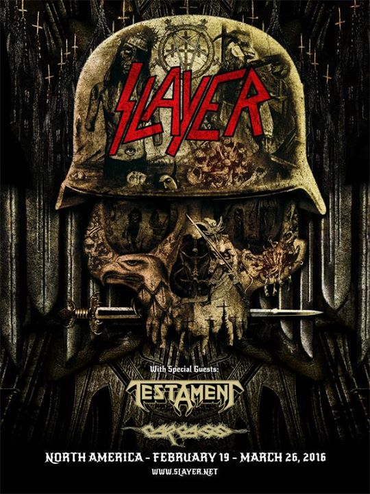 Slayer tour