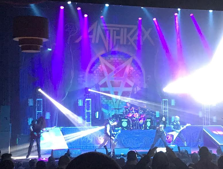 Anthrax Show Review