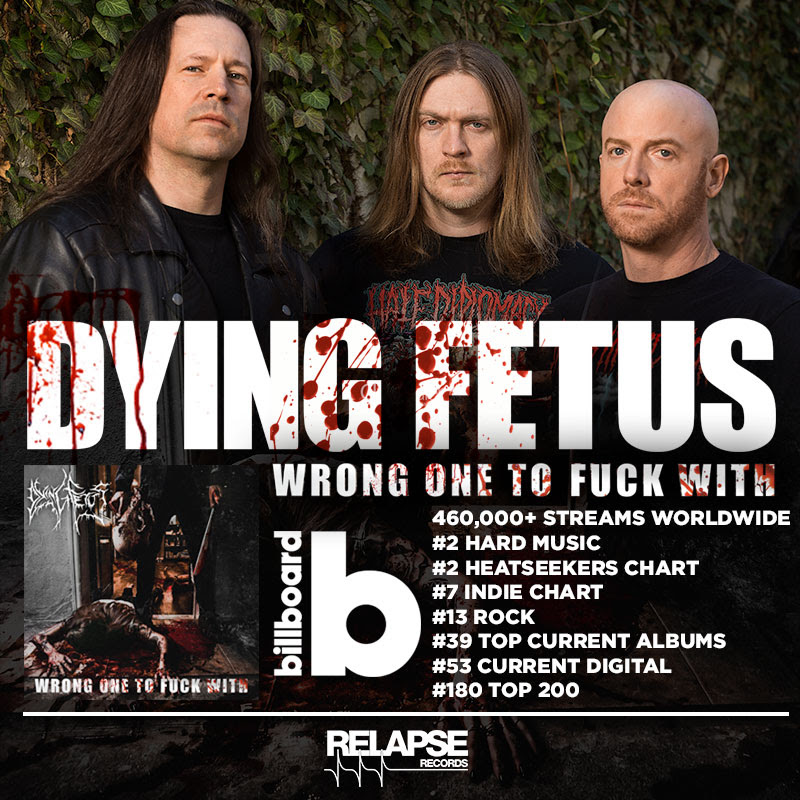 Dying Fetus Chart Positions