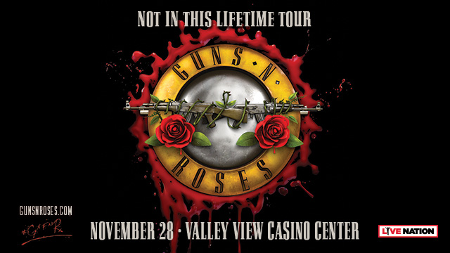Guns N' Roses coming to the KFC Yum! Center November 3