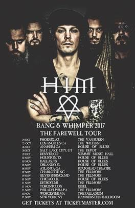 HIM Farewell Tour Poster