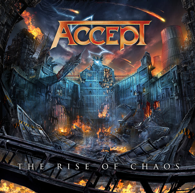 Accept Album Cover:  The Rise of Chaos