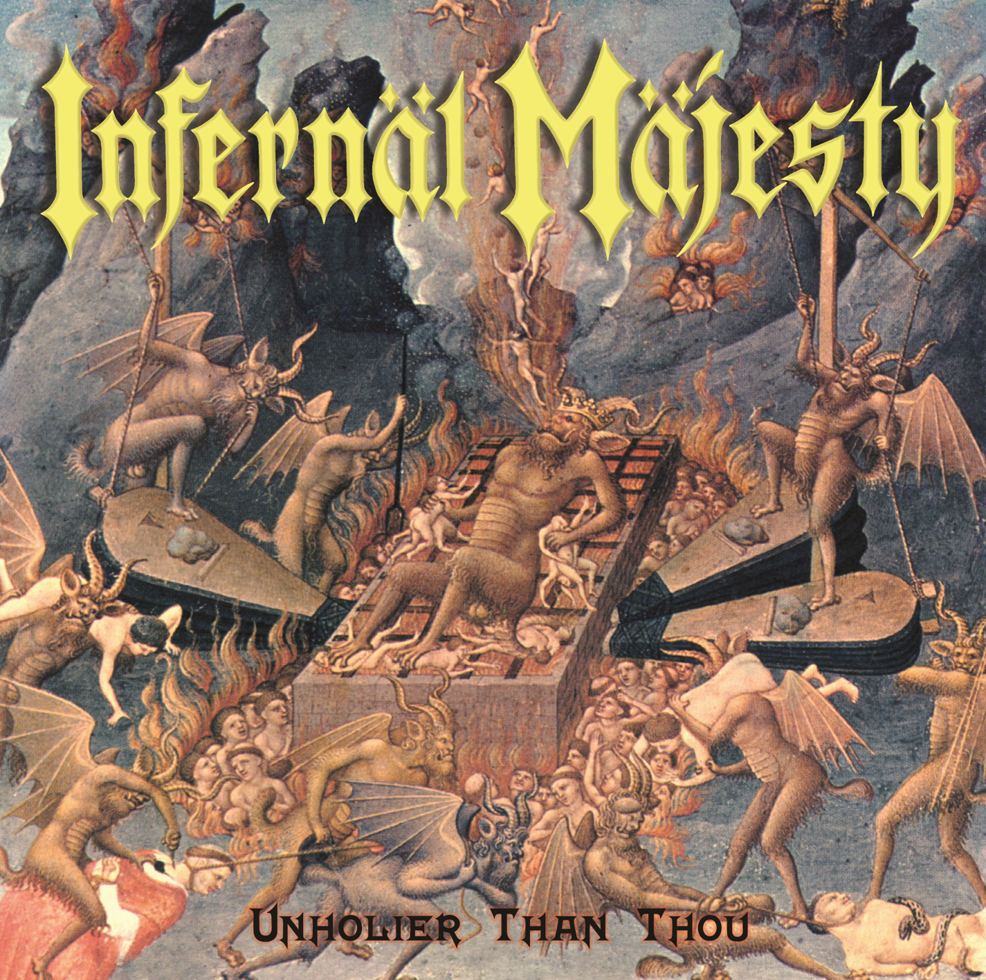 Infernal Majesty Album Cover