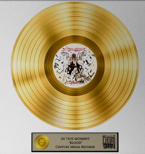 In this Moment - Blood - Gold Record