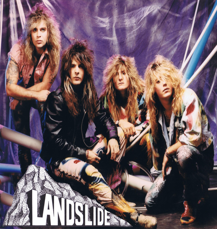 The Gauntlet Fna Records Releases 80 S Rockers Landslide