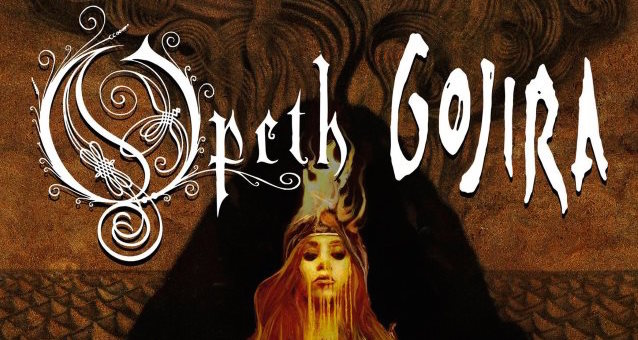 Opeth Gojira Tour