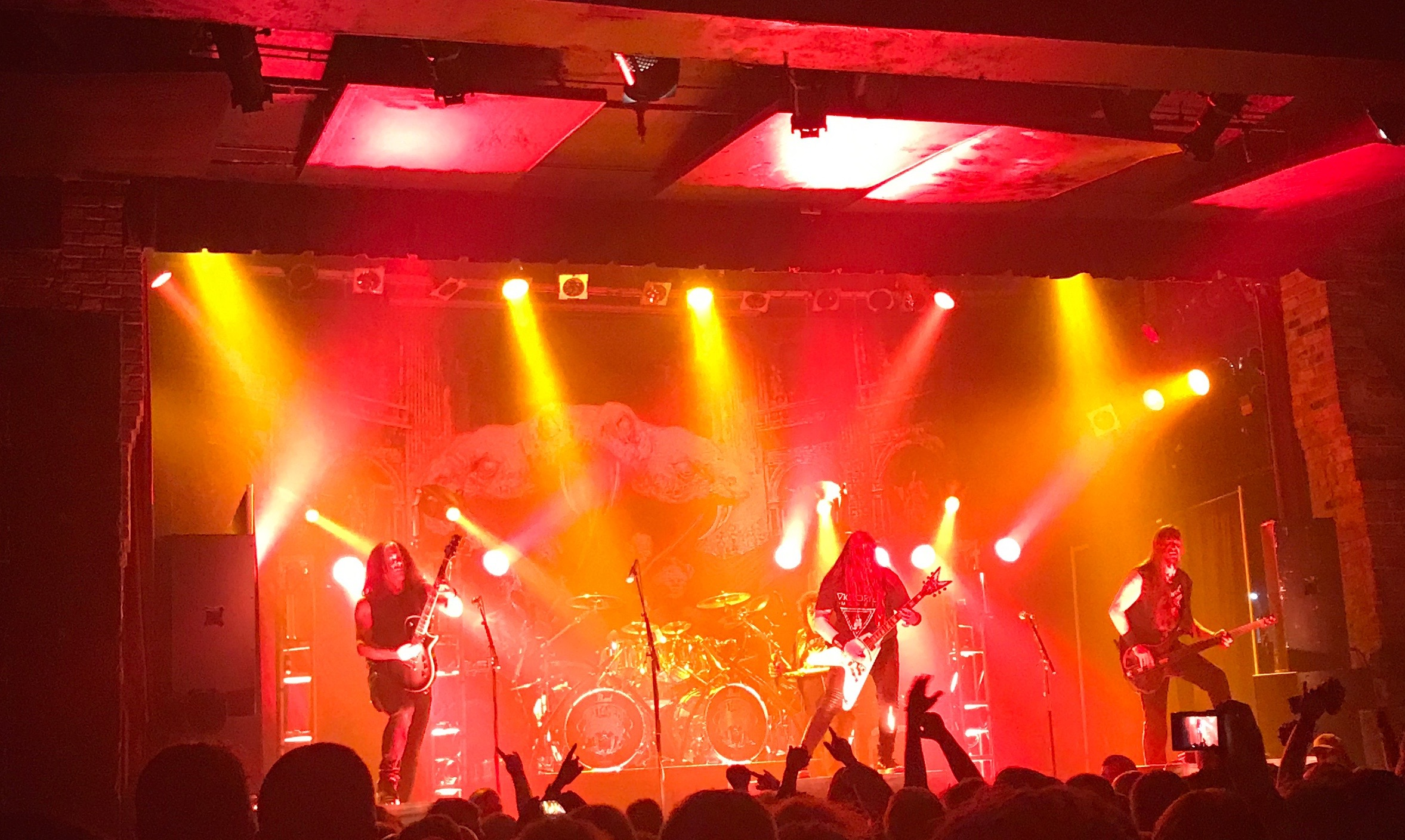 Testament Show Review at Bogarts in Cincinatti