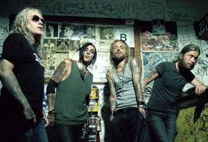 backyard babies  The Gauntlet - BACKYARD BABIES - ON THE ROAD AGAIN - NEW UK TOURS DATES