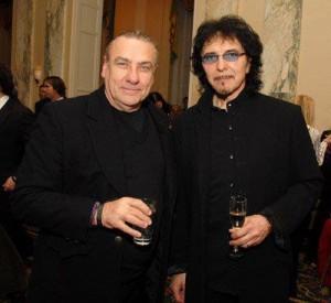 Bill Ward and Tony Iommi (2012)