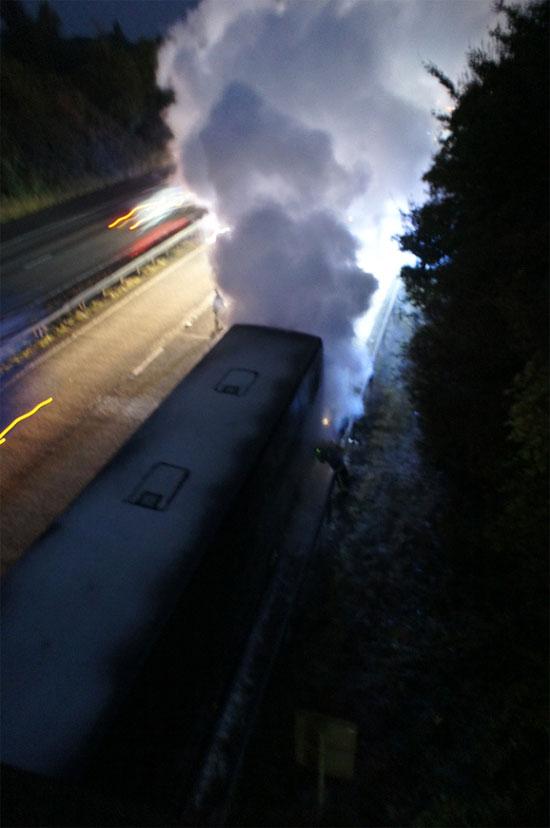 bus fire 2012