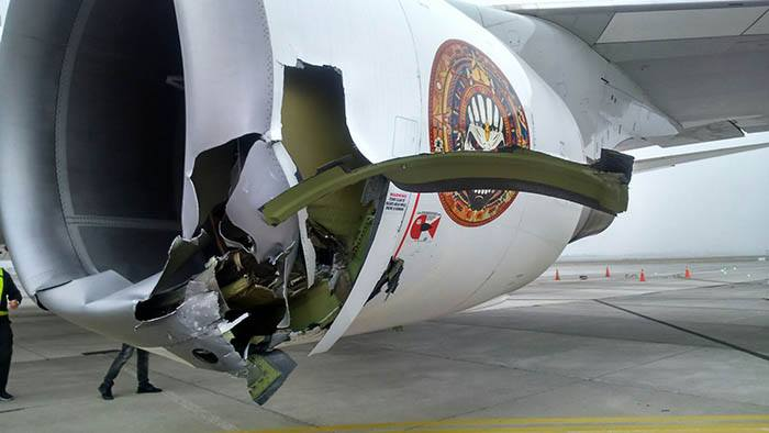 Ed Force One damage