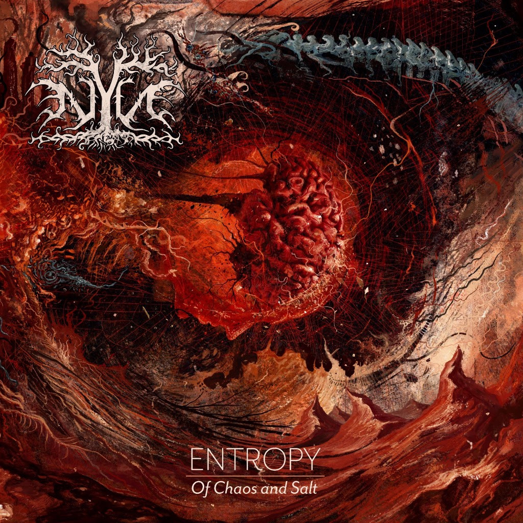 Entropy of Chaos and Salt Cover Art.