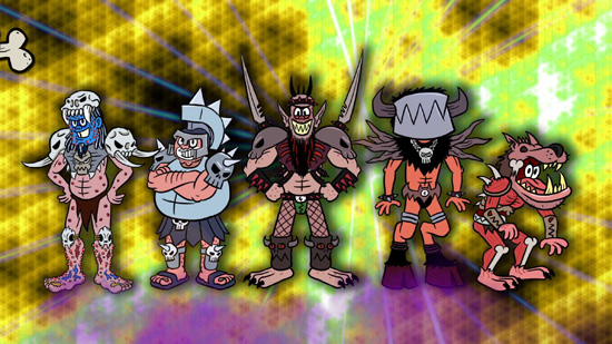 Gwar Cartoon
