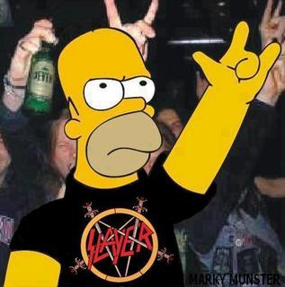 Homer Loves Slayer