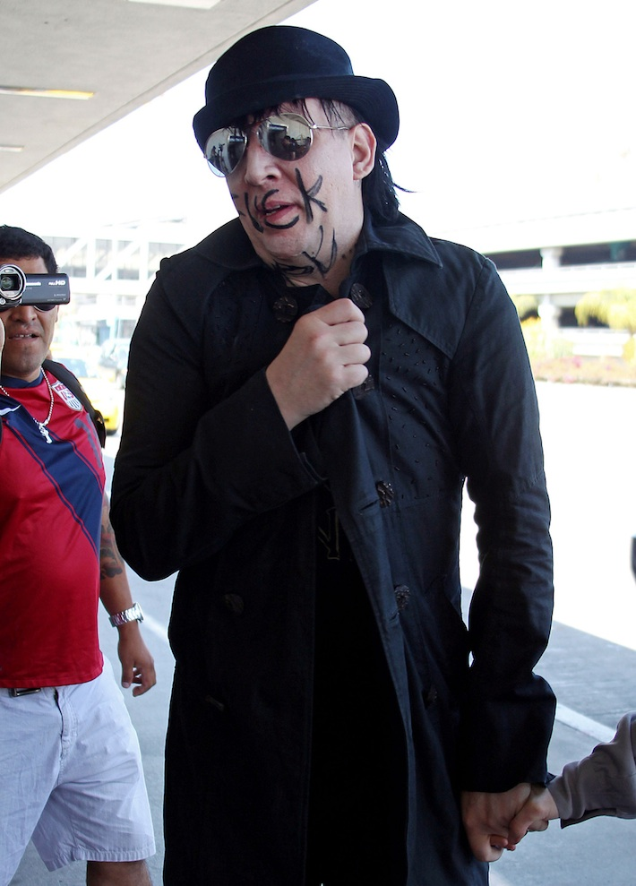 Marilyn Manson Fuck (2012)