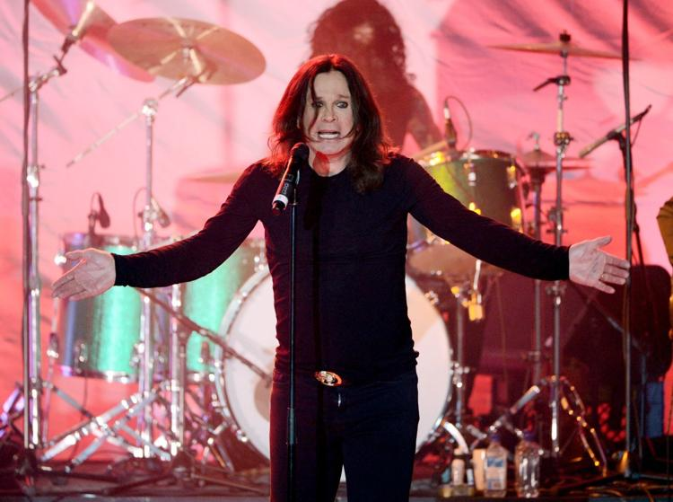 Ozzy Performing