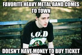 Poor Heavy Metal Performers