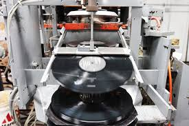 record pressing machine