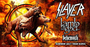 Slayer, Lamb of God, Behemoth Tour
