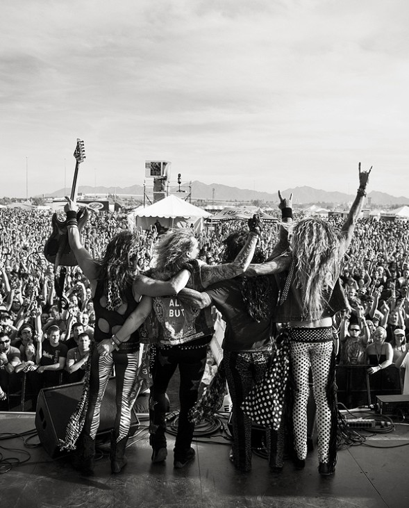 Steel Panther KUPD U-Fest May 2009 - credit Ty Watkins