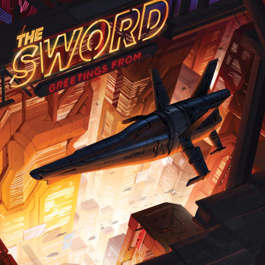 the Sword Live Album Cover