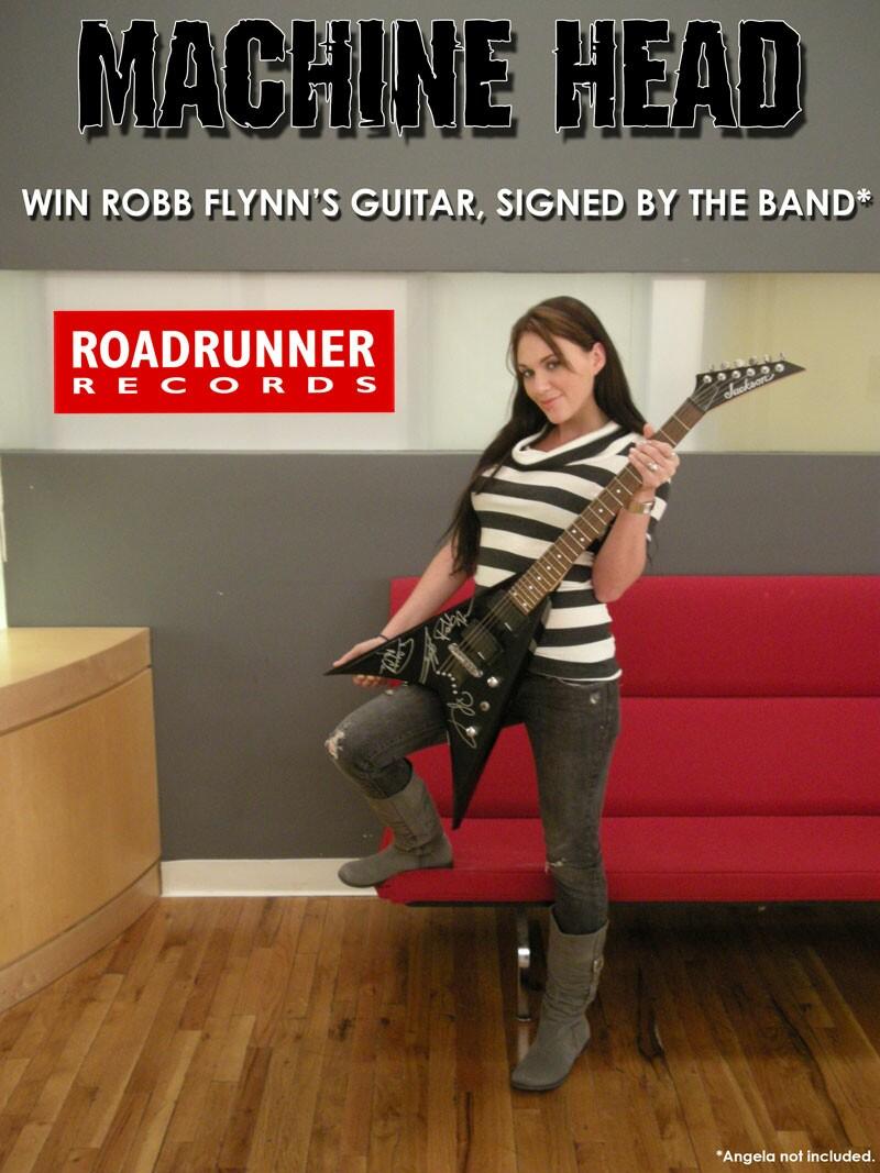 guitar promo machine head