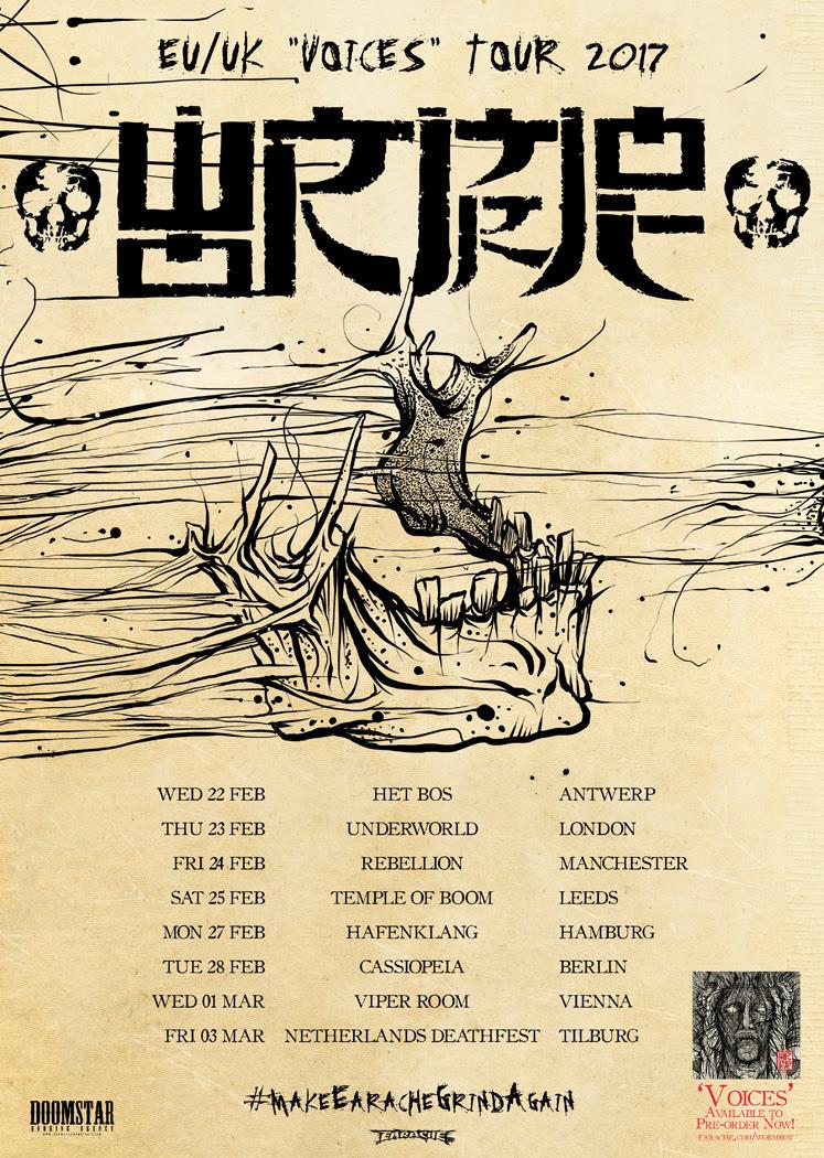 wormrot tour