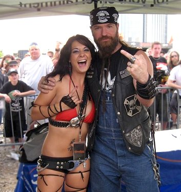 Zakk Wylde and Pleasure Productions Tera Wray