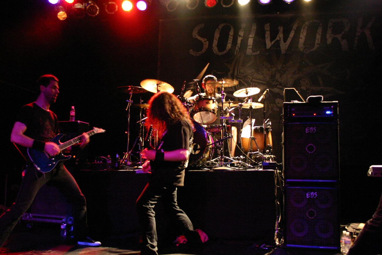 Soilwork North American Tour 2009