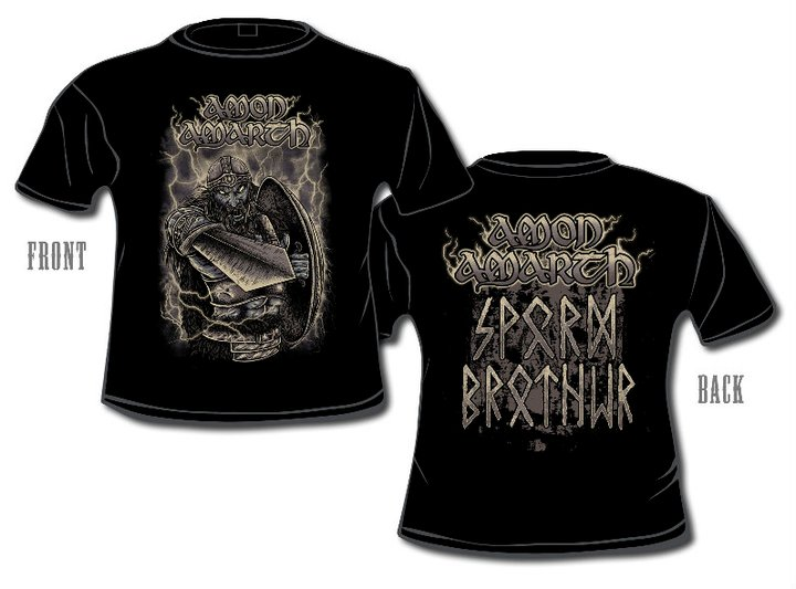 amon amarth t-shirt sperm brother