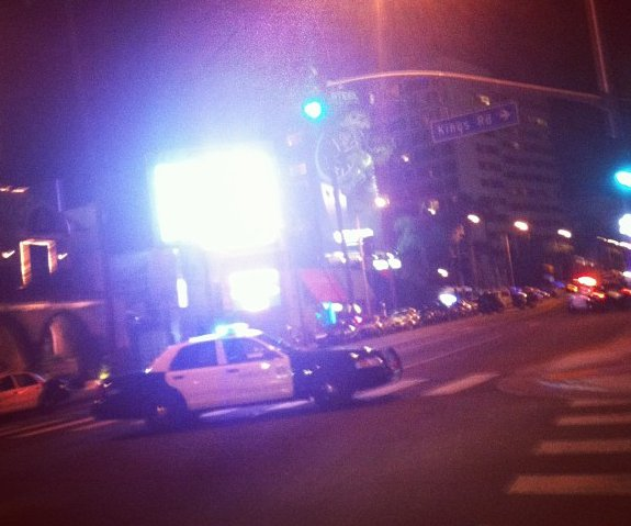 House of Blues sunset blvd gunman